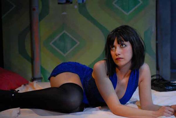 Chiara Baffi, la protagonista di ´CHIOVE´