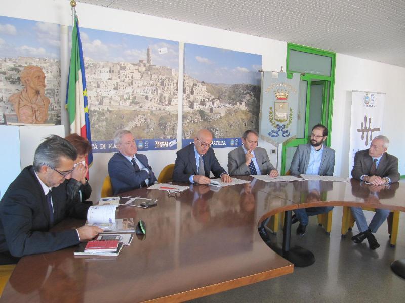 Conferenza stampa di presentazione del Festival of Festivals a Matera