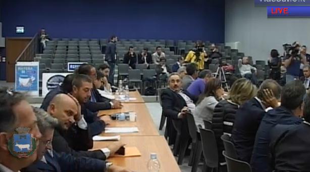 Consiglio comunale su riordino province - 22 ottobre 2012 (streaming Videouno)