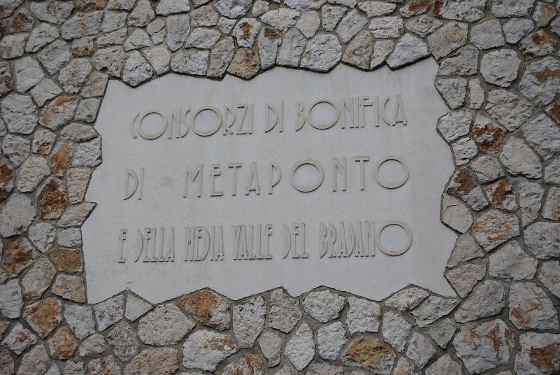 Consorzio di Bonifica di Metaponto e della media Valle del Bradano - Matera