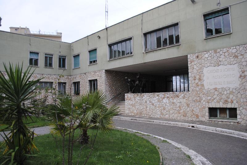 Consorzio di Bonifica di Metaponto e della media Valle del Bradano - sede di Matera (foto SassiLand)