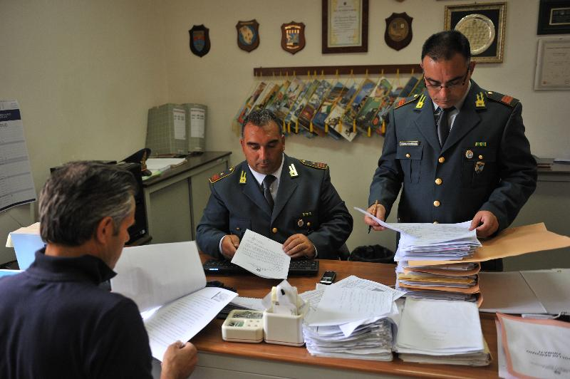 Controllo fiscale della Guardia di Finanza