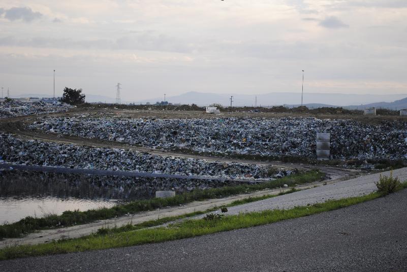 Discarica di La Martella - Matera (foto Gianni Cellura)
