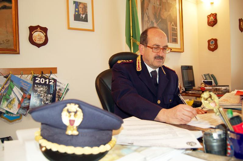 Domenico Calia ,direzione del Settore Polizia Locale