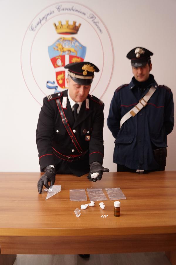 Droga sequestrata dai Carabinieri di Policoro