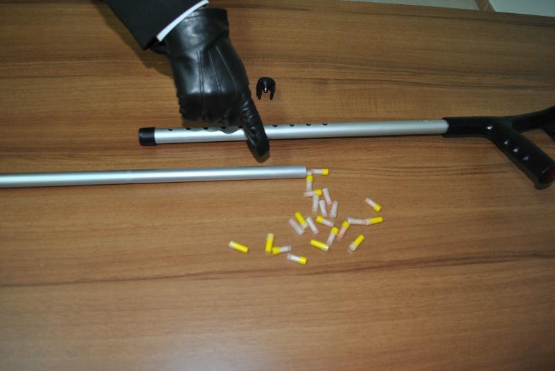 Droga trovata dentro una stampella, arresto dei carabinieri a Tricarico