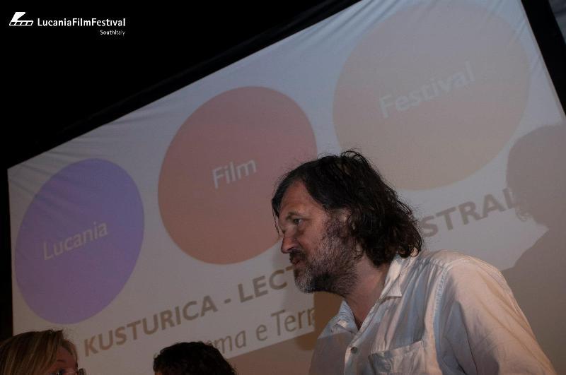 Emir Kusturica al Lucani Film Festival 2012