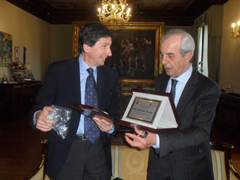Gianfranco Bernabei e Franco Stella