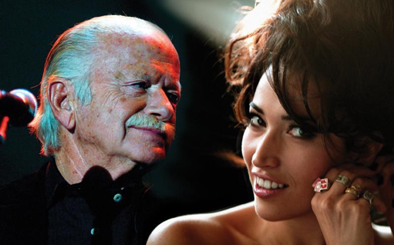 Gino Paoli e Nina Zilli insieme