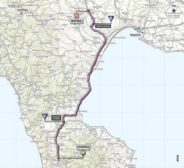 Giro d´Italia 2013 - tappa Cosenza - Matera