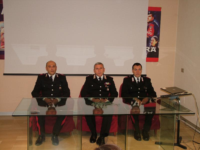 I carabinieri del Comando di Pisticci (foto Martemix)