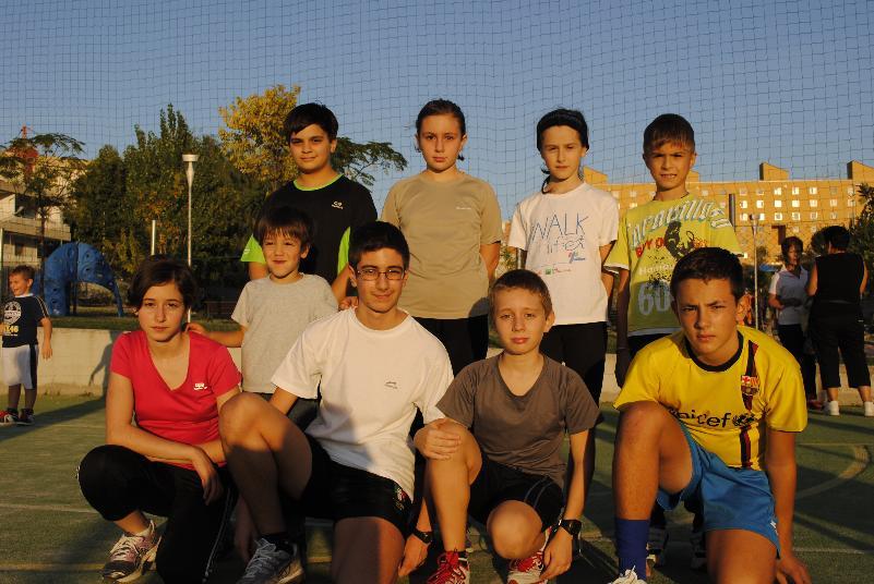 I giovanissimi allenati da Nino Di Lecce