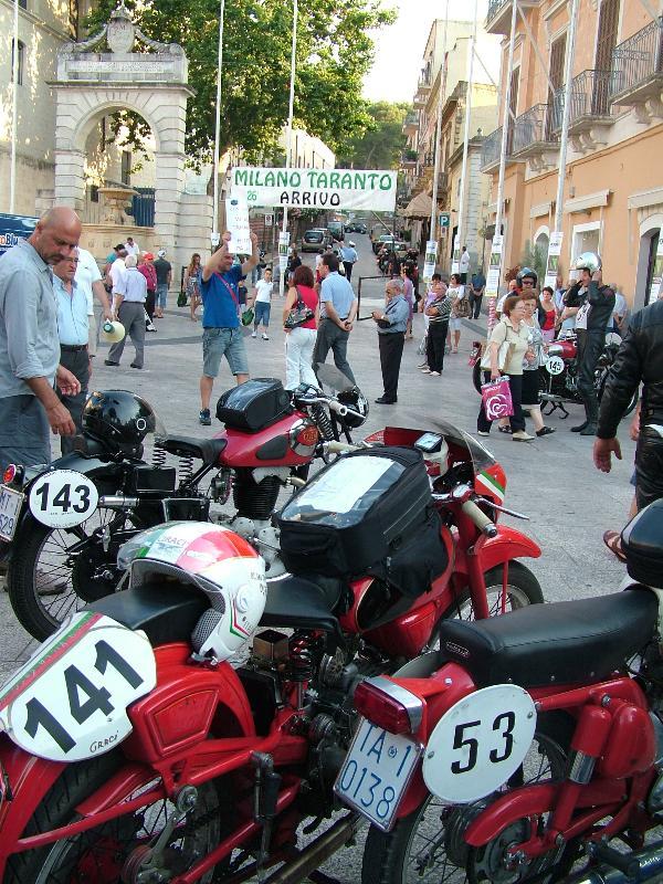 i motociclisti ieri a Matera (foto Martemix)