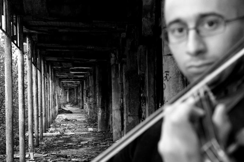 Il violinista Marco Fusi