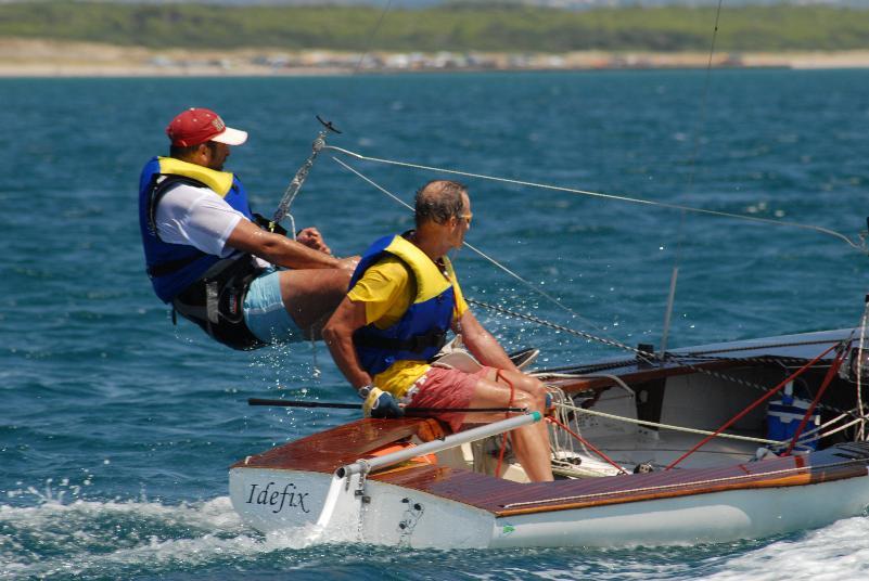 L´equipaggio vincitore del Trofeo Olandese Volante 2012