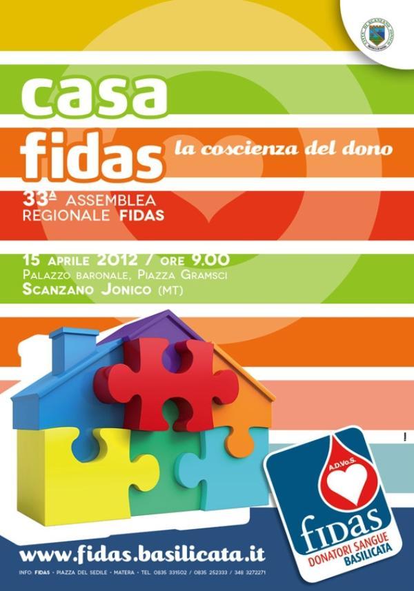 LA FIDAS BASILICATA CELEBRA LA SUA 33^ ASSEMBLEA A SCANZANO JONICO