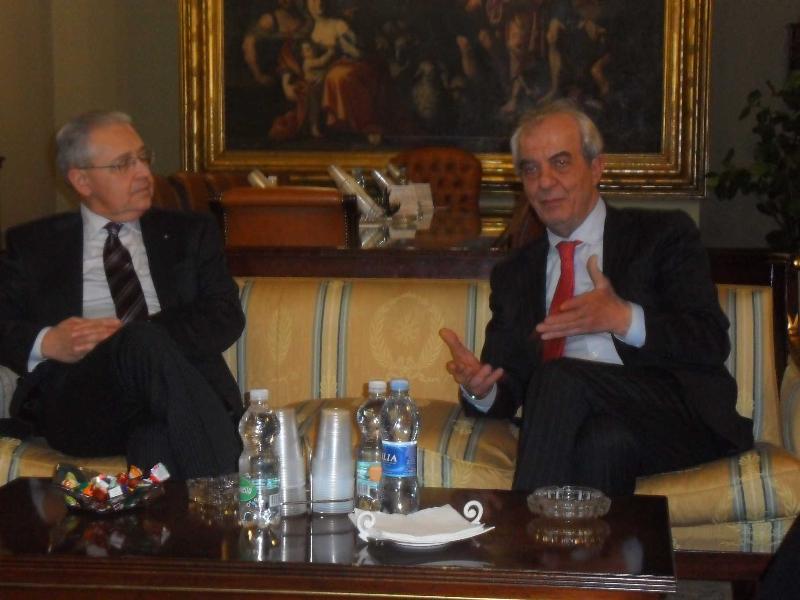 Luigi Pizzi e Franco Stella