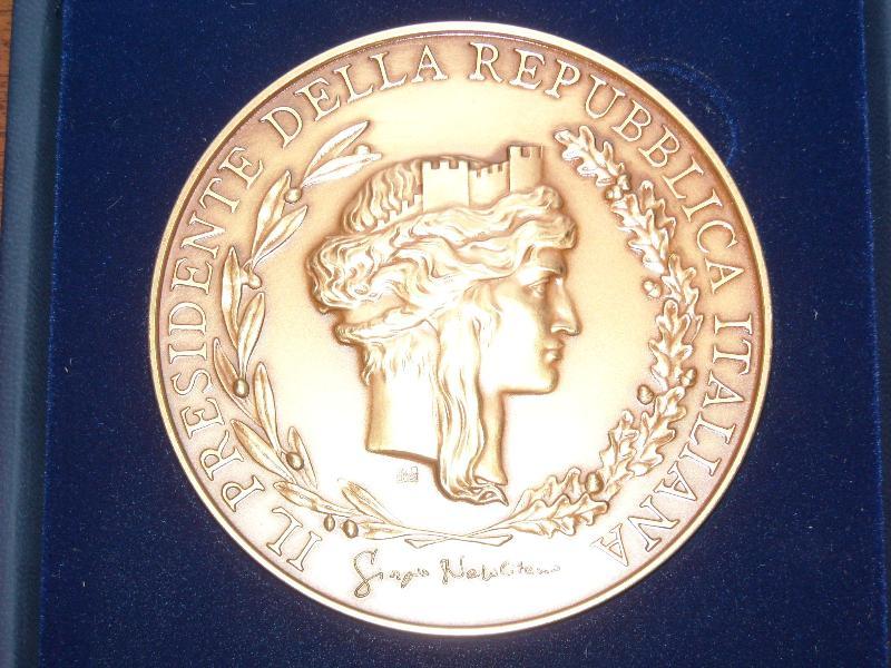 Medaglia d´Oro del Capo dello Stato al circolo La Scaletta