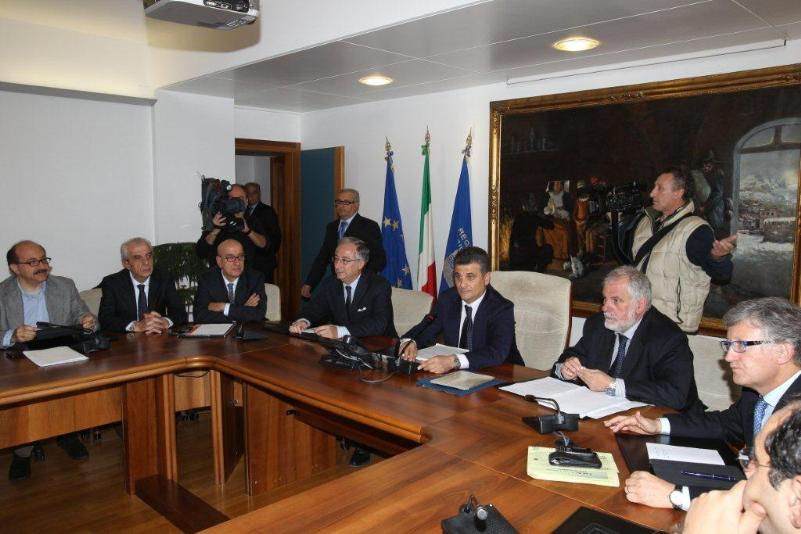 Ministro Patroni Griffi in visita in Regione