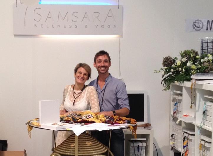 Monica De Lucia e Simone Venezia allo Yoga Festival 2012