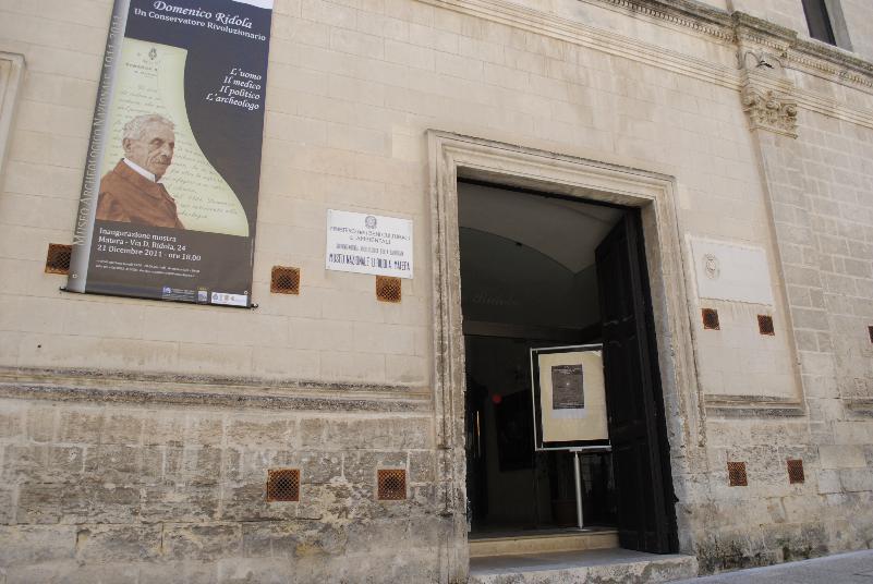 Museo Ridola - via Ridola - Matera (foto SassiLand)