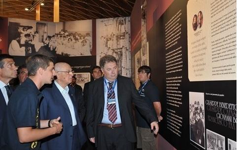 Napolitano visita la mostra a Rimini