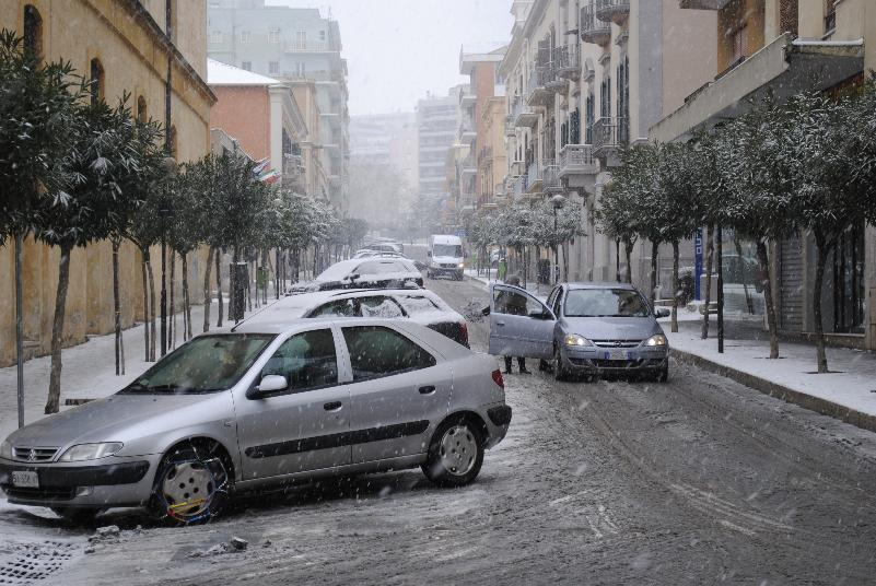 Neve a Matera - 07 febbraio 2012
