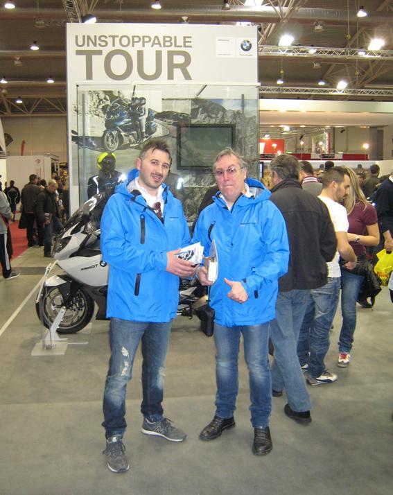 Nico Lippolis e Antonello Di Gennaro al Motodays