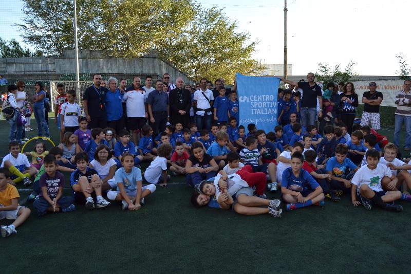 Partecipanti della Festa dello Sport 2012