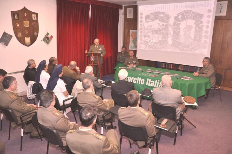 Presentazione del calendario 2013 dell´Esercito Italiano