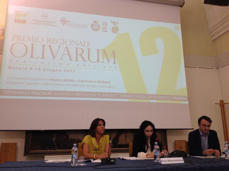 Presentazione Premio Olivarum 2012