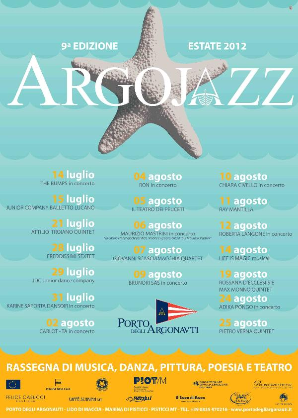 Programma Argojazz 2012