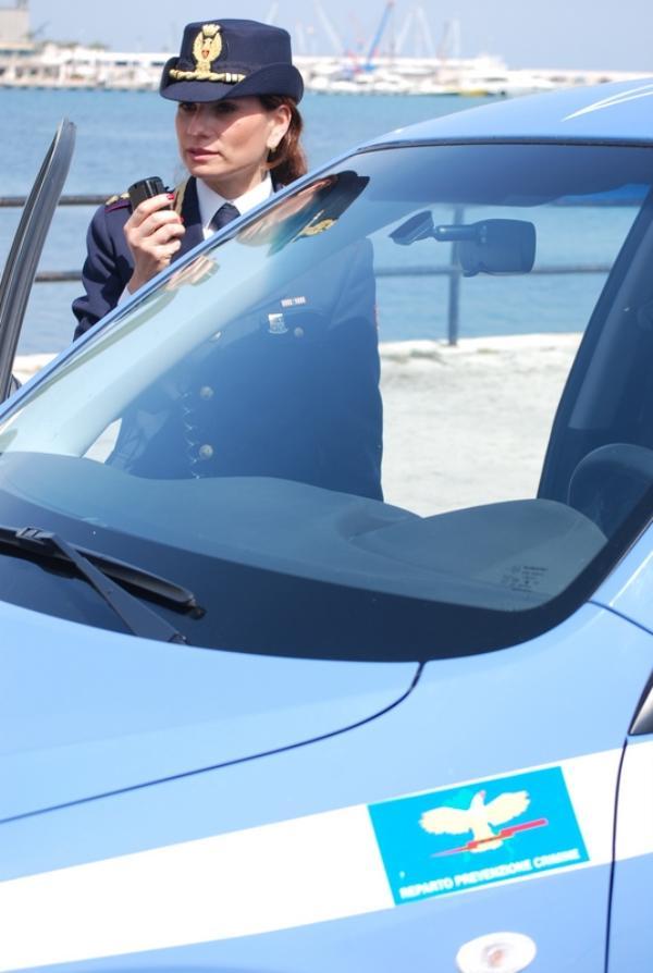 Raffaella Amati, polizia di stato