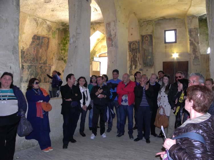 Sordi presso la chiesa rupestre S.Lucia alle Malve