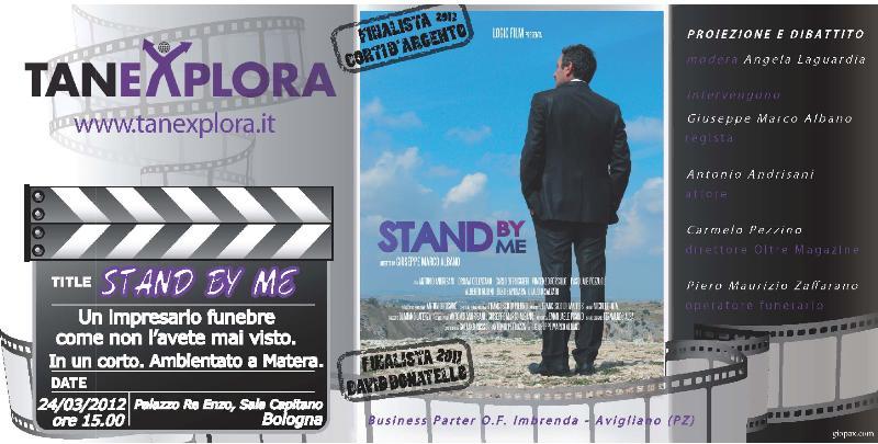"""""""Stand By Me"""" al """"Tanexpo"""" di Bologna in proiezione nazionale"""