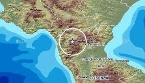 Terremoto sul Pollino