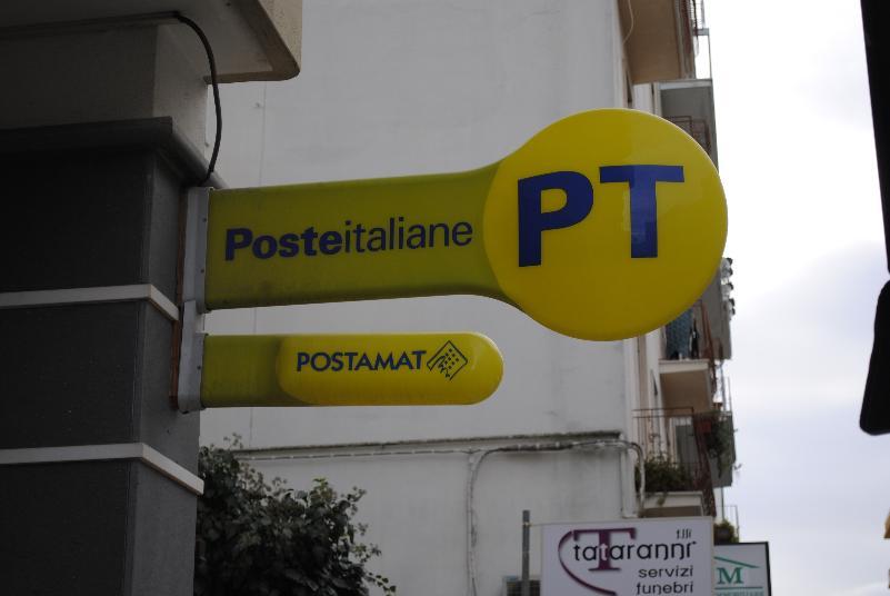 Ufficio Postale a Matera (foto SassiLand)