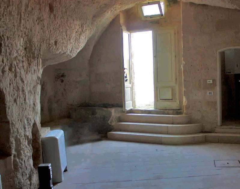 Una sede del complesso di Sviluppo Basilicata nei Sassi di Matera