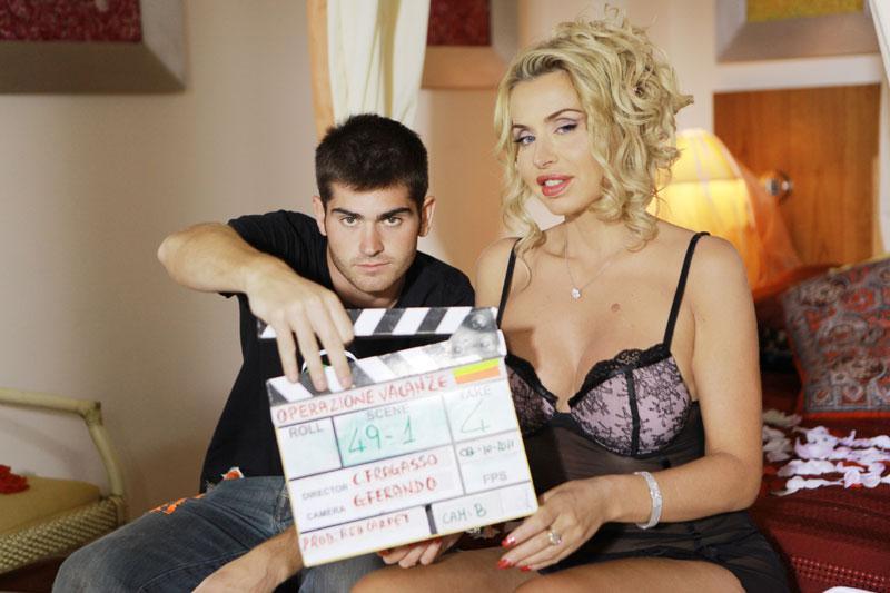 Valeria Marini nel cast di Operazione vacanze