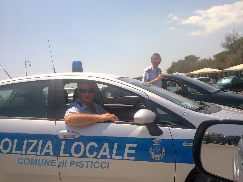 Vigili urbani di Pisticci