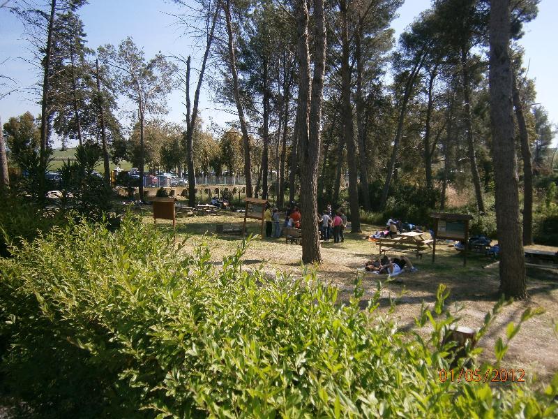 Visitatori nell´oasi WWF di San Giuliano - Matera