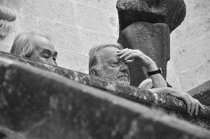 Alberto Zanmatti al MUSMA. Foto di Mariagrazia Lomonaco