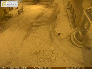 Angela, i love you, un messaggio d'amore su una webcam di SassiLand  - Matera