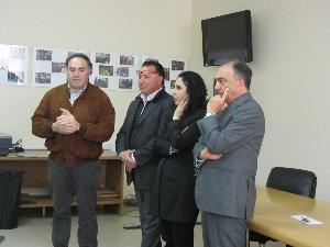 Assessore Mastrosimone in visita presso l'APA Potenza - Matera