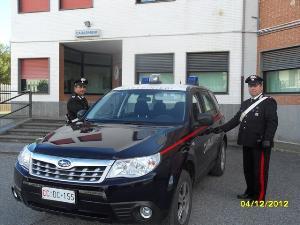 Carabinieri a Nova Siri - Matera