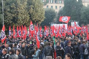 CasaPound Italia - Manifestazione a Roma - 24 novembre 2012 - Matera