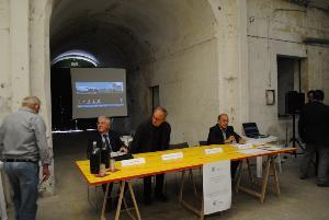 """Conferenza stampa sul progetto del """"nuovo"""" Mulino Alvino - 9 ottobre 2012"""