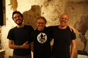Enrico Malatesta, Francesco Altieri e Luciano Maggiore