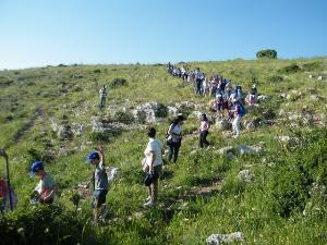 Escursione per bambini , edizione 2012 - foto Donato Casamassima - Matera
