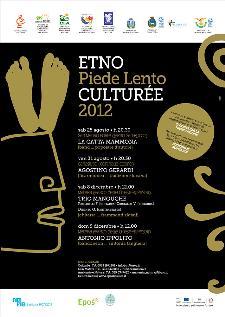 ETNO A PIEDE LENTO - CULTURÈE 2012 - Matera
